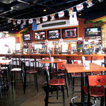 This was the sports bar side