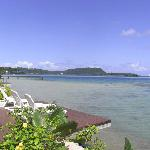 View from our room - Moorings, Port Vila