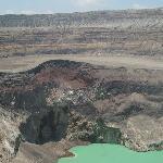 Inside the massive crater of El Salvador's largest volcano