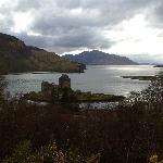 Eilean Donan Castle is less than 5 minutes walk