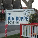Big Bopper sign