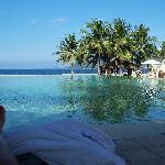 Main pool for adults v pretty n deep