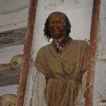 Catacombe dei Cappuccini - il corpo di Antonio Prestigiacomo
