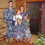 Us at the onsen