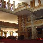 Inside the Imperial Palace Hotel lobby
