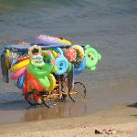 Vendor of water & beach toys