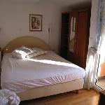 Liljiana Bedroom 1 with door to balcony.