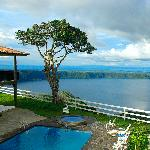 Ranch overlooks Laguna de Apoyo