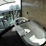 Junior Suite Deluxe Bathroom- The Dolder Grand