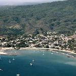 La Cruz before the marina filled in the bay