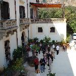 Villa Niscemi - la facciata principale