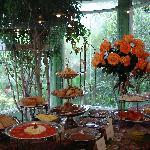 The Colibri breakfast room