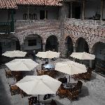 Breakfast on the courtyard?