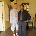 Mr. Sanjay & me