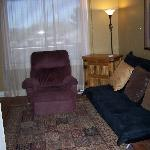 Living Area - Cottonwood Hotel