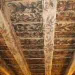 Le plafond du hall