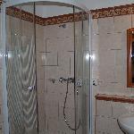 Uno de los baños: aunque no muy grande estaba impecable