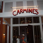 the front of Carmines as seen at Marina Village