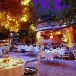 Our romantic garden.