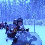 Snow mobile day.....Brilliant