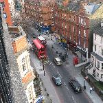 View of Earls Court Road from the balcony