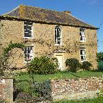 Outside of Clanville Manor
