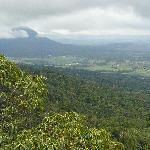 View over Boonah from Mount French