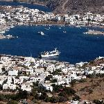 View towards Patmos harbour