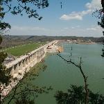 Wolf Creek Dam 3 mi from park entrance