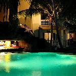 Pool by night...
