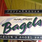 Pearl Street - Jackson sign
