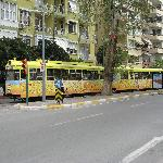 The tram in Antalya