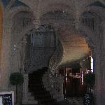 The grand staircase by the main entrance