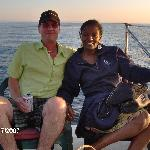 Paul and Shavaughn on boat from  Aug 2007