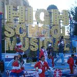 High School Musical Parade which we didnt know was on that day just by chane we caught it!!
