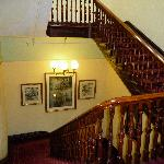 Huge staircase, shame about the rooms