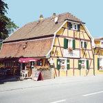 façade du restaurant la couronne