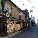 The ryokan, daylight