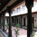 Courtyard at the Visalam