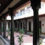 Courtyard at the Visalam