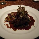 eleven- main course -steak (bit salty)