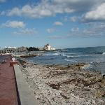 Malecón along the upper north east side of the island. Great for morning walks.