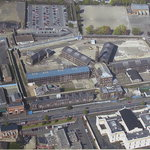 Aerial view of the Gaol