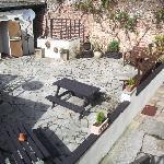 Beer Garden - A real sun trap!