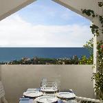 """una cena """"Al Fresco"""" con vistas a África y Gibraltar"""