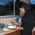 Cooking course with Anji