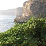 Xlendi cliffs
