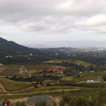 View from Orange Kloof trail