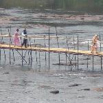 A traditional Wooden Bridge near Ponmala Homes
