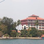 View from the boat in Cochin Sightseeing Tour